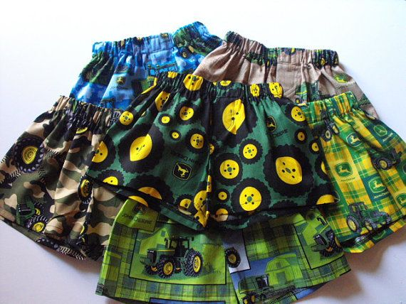 John Deere Boxers Shorts For Toddlers Underwear By
