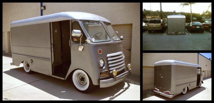 CARTICULAR: Craigslist Find: Bagged '54 Chevy Step Van ...