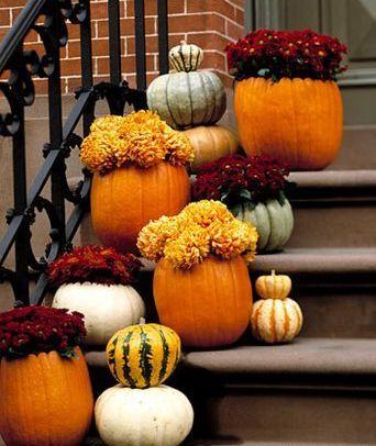 <3 Wedding [Pumpkins & Flowers into Church]