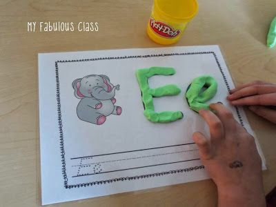 Multi-Sensory Alphabet Cards. Use with wikki stix, play-dough, pom-poms, glitter glue, sand, and more. Perfect for fine motor and kinesthetic learning.