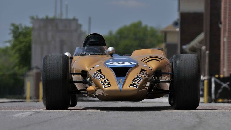 1968 Shelby Turbine Indy Car presented as Lot S183 at Monterey, CA