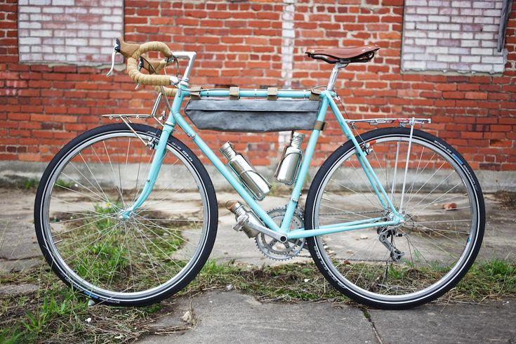 Vintage Touring Bike Restoration Panasonic Pro Tour Touring Bike Bike Restoration Bicycle