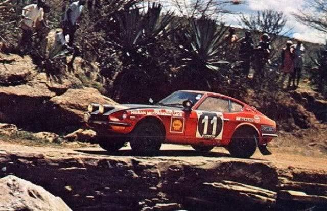 1971 DATSUN 240Z - 1971 East African Safari Rally driven by Edgar Herrmann and H. Schuller