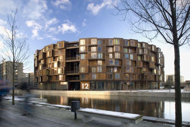 Rued Langgaards Vej 10, Copenhagen, Denmark Tietgen Dormitory / Lundgaard & Tranberg Architects