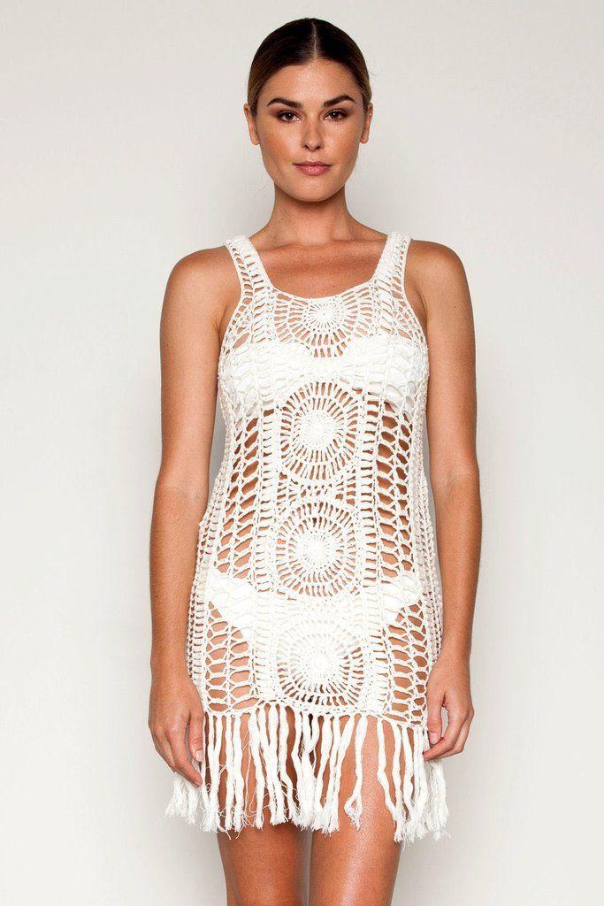 Cleobella ||  Эмма короткое платье цвета слоновой кости