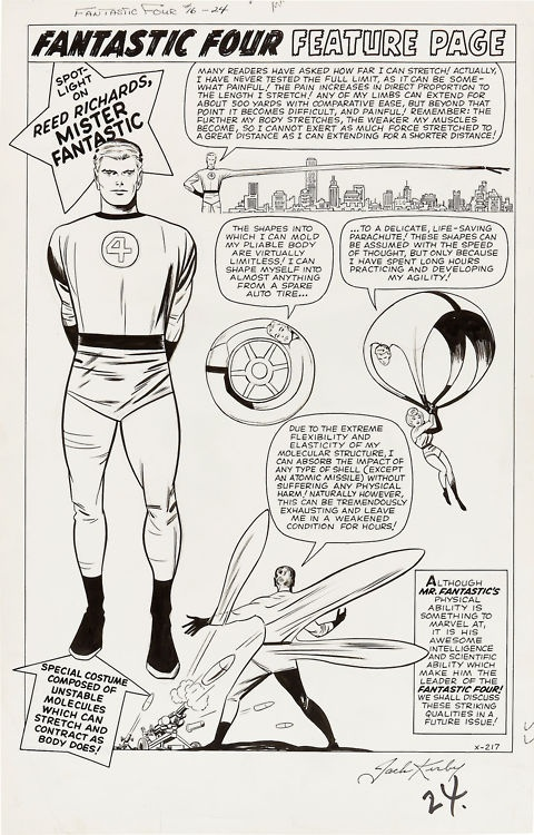 from FANTASTIC FOUR #16 by Jack Kirby