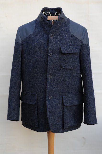 MORE TAILORING THAN WE NEED BUT STILL GOOD. Tenzing Jacket by Nigel Cabourn, Men's Fall Winter Fashion.