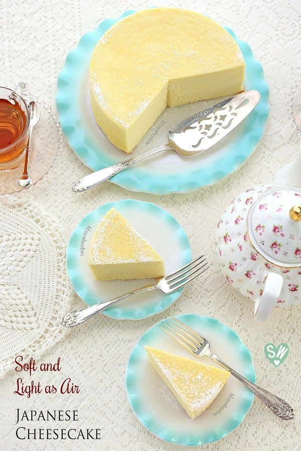 Soft like a pillow and light as air, diet-friendly Japanese cheesecake delivers a delicious rich flavor of cream cheese with a subtle tanginess of lemon that won't compromise your diet. You can ha…
