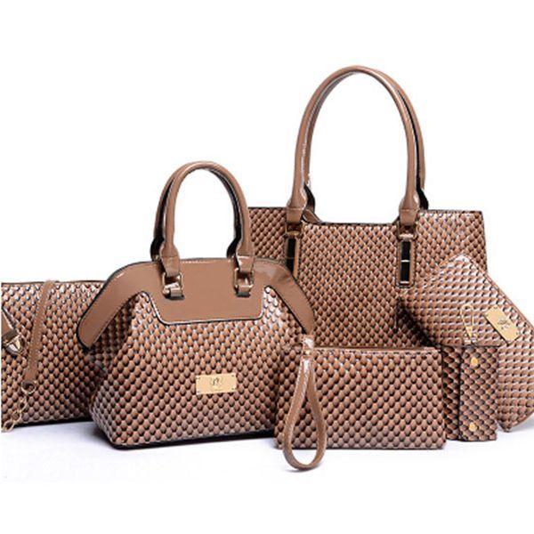 6 Pcs Patent Shoulder Bag Set Item NO. BAG000422802N Rs.1968.27 and 28% off