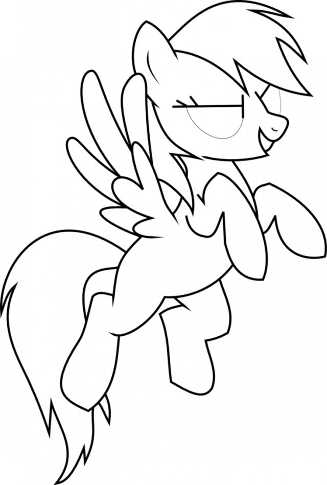 Rainbow Dash Coloring Pages To Print Coloring Coloring Pages