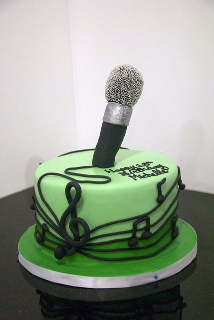 Microphone Cake Flickr Fotosharing Musik Torte
