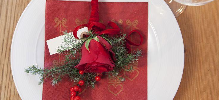 Lag egen kuvertpynt til julebordet | Mester Grønn