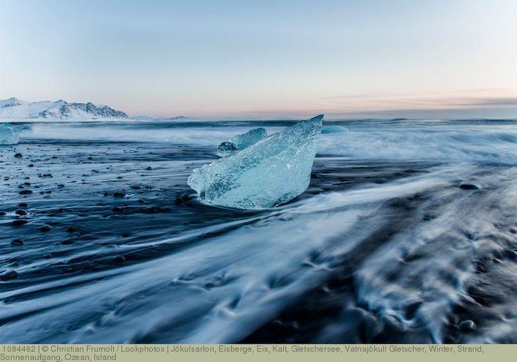 Jökulsarlon, Eisberge, Eis, Kalt, Gletschersee, Vatnajökull Gletscher, Winter, Strand, Sonnenaufgang, Ozean, Island