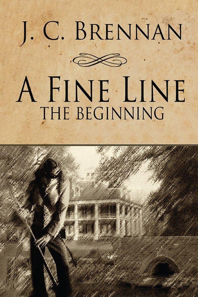 #IndieBooksBeSeen: A Fine Line the Beginning by JC Brennan