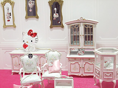1000+ images about Hello Kitty Living Room on Pinterest