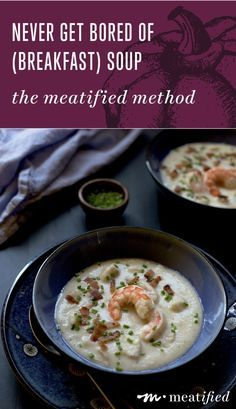 Never get bored of (breakfast) soup again! Let http://meatified.com show you the simplest way to jazz up your AIP and allergy friendly meals.