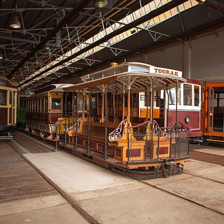 Hawthorn Tram Depot – Open House Melbourne 2014 - July 26/27