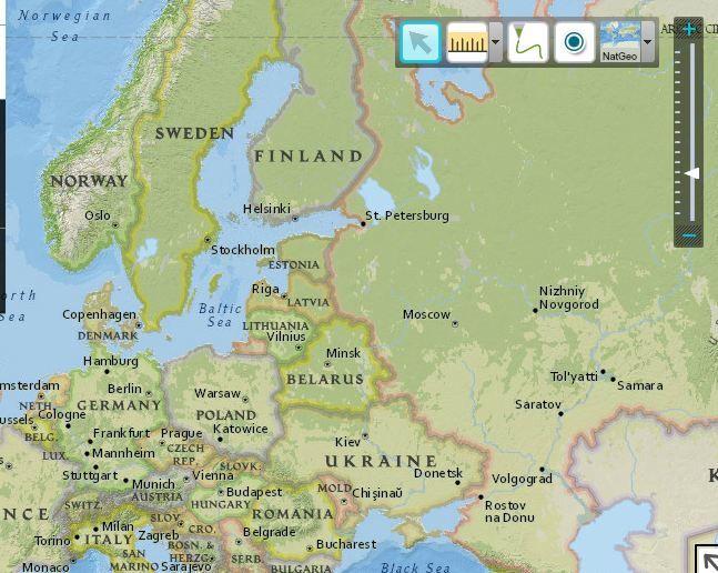 mapy  interaktywne