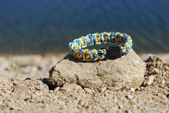 Colorful Handmade Paracord Survival Bracelet