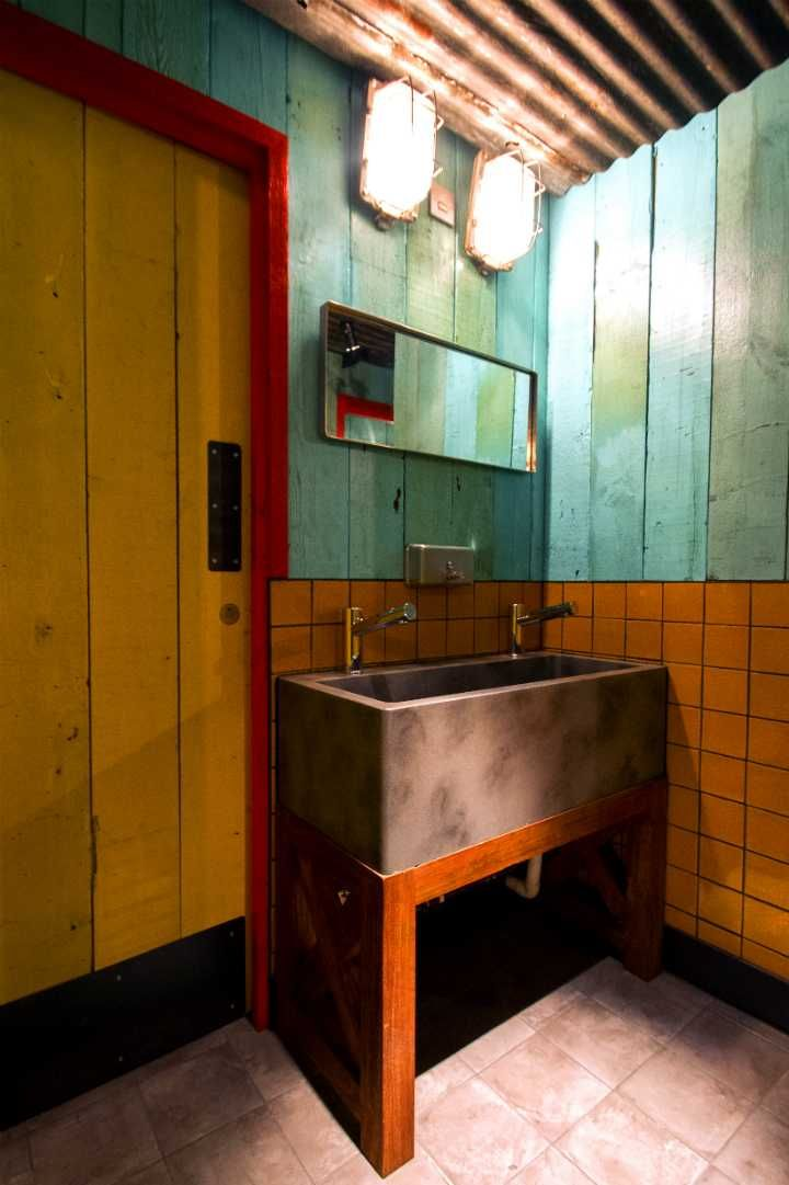 levi roots caribbean smokehouse interior caf interiorrestaurant interior designrestaurant interiorsrestaurant bathroomlevi rootsjamaican - Bathroom Designs Jamaica