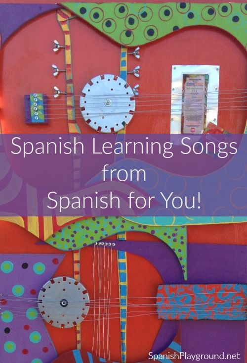 Spanish learning songs from Spanish for You sung by artist Mariana Iranzi. Fabulous music with vocabulary and verbs that kids learning Spanish need to know.