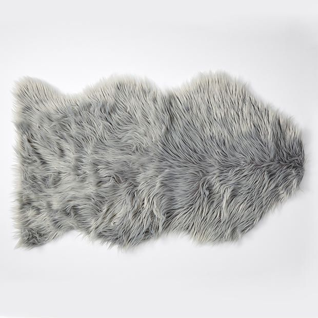 Faux Fur Floor Rug