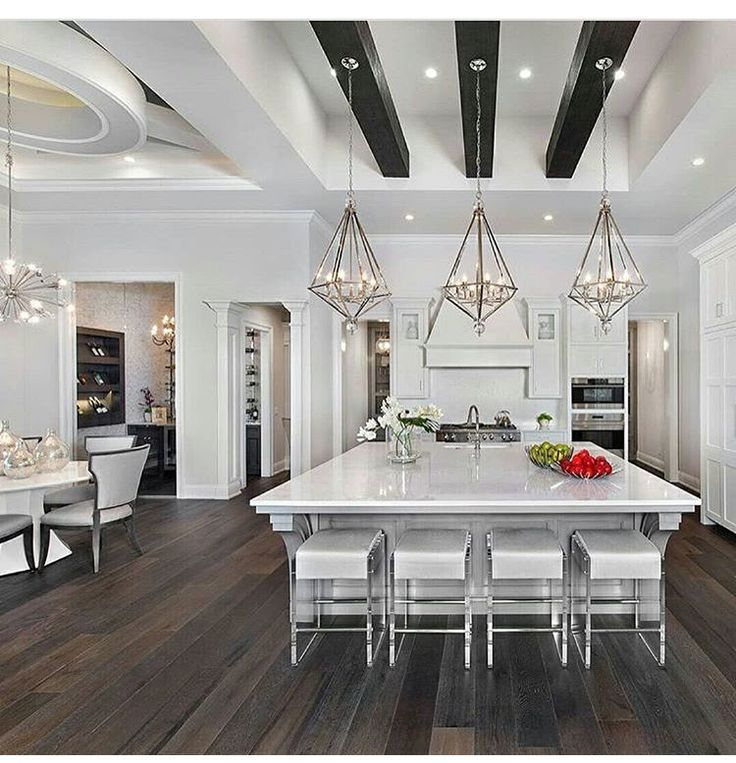 Modern Glam Kitchen Design Luxury Kitchen Design White Kitchen Design Luxury Kitchens