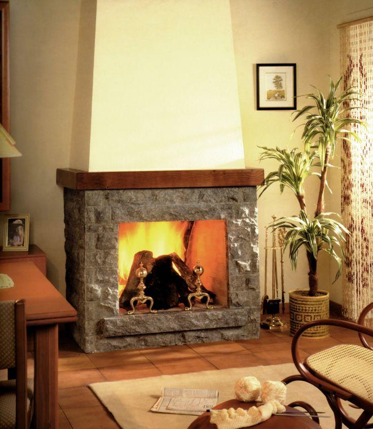 17 best images about chimeneas on pinterest modern - Chimeneas rusticas ...
