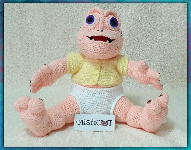 Bebé Sinclair amigurumi 27 cm By Misticat