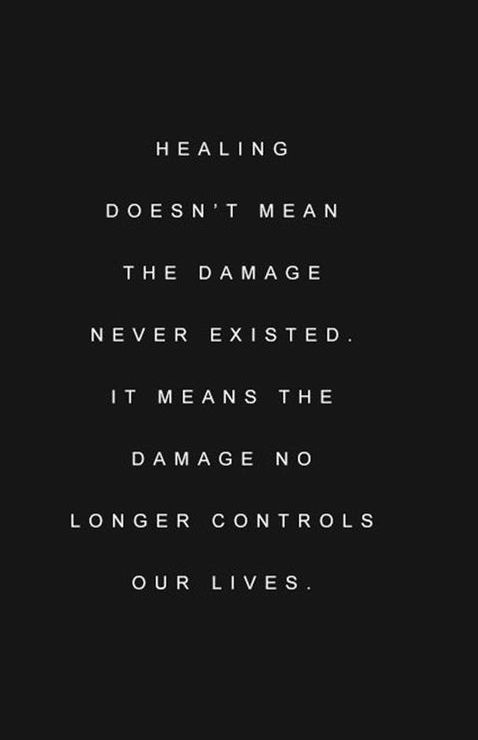 We repeat a lot of mistakes in our life because we don't give ourselves time to heal and learn the things we need to learn.