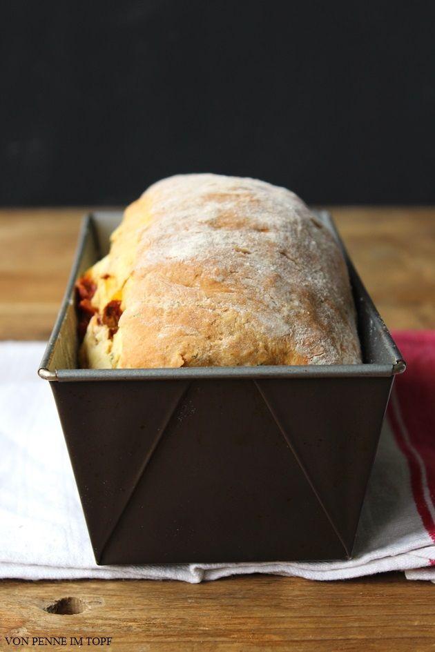 Quark-Brot mit Gemüse-Füllung.. sooo lecker & schnell gemacht! Eif 1 std. bevor man Abendessen will zubereiten.. dann kann man es perfekt genießen :)