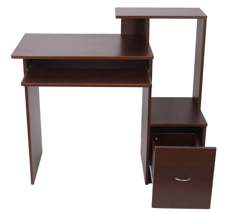 24 best home office images on pinterest wood computer for All wood computer desk
