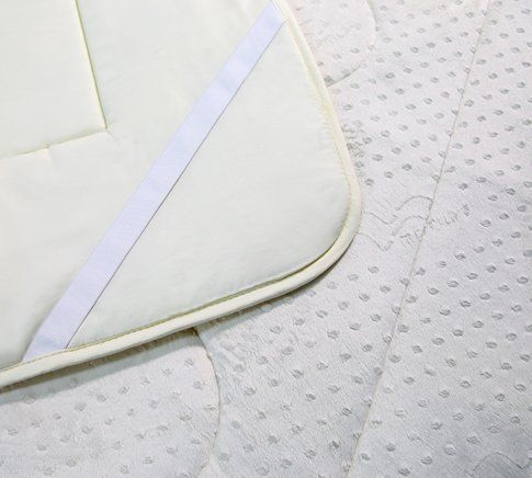 silk comfort mattress toppers full size by mercury color begie size