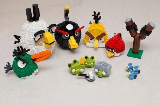 Lego Angry Birds!
