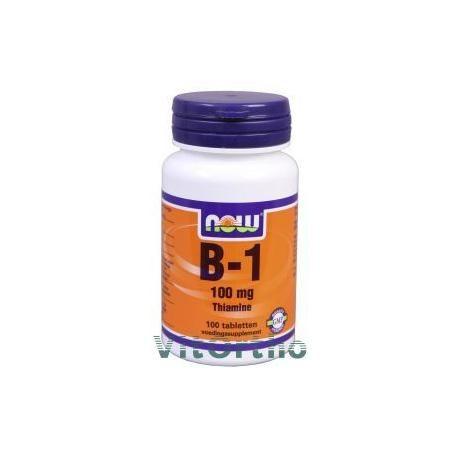 Vitamine B1 100mg - helpt tegen muggenbeten