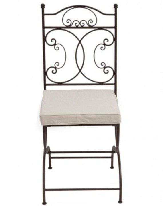 Moroccan Chairs Set Of 2 Folding Chairs Wrought Iron Chair