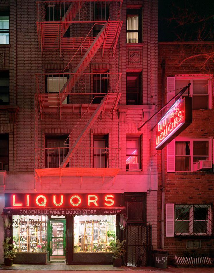 Golden Rule Wine & Liquor Store, 457 Hudson Street, West Village, New York | David Leventi Photography