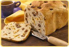 Recept voor Vruchtenbrood in de broodbakmachine - Koopmans.com