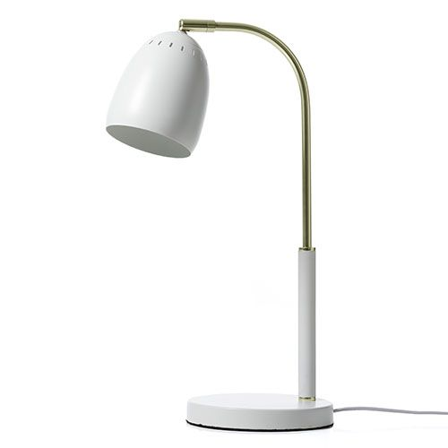 Oxford White Table Lamp