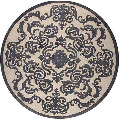 Круглый ковер кардинал Д. Мазарини Cardinal Circle Pearl #rug #ковер #carpets