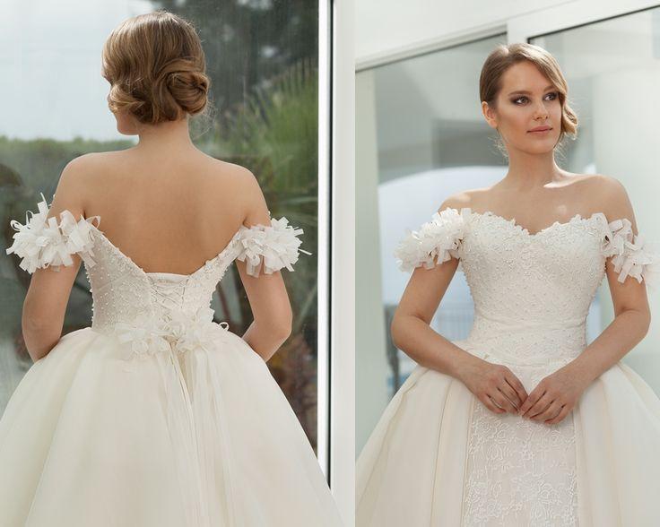 straplez-askısız gelinlik modellerimiz 2016-taş işlemeli askısız gelinlik modelleri-nova bella nişantaşı