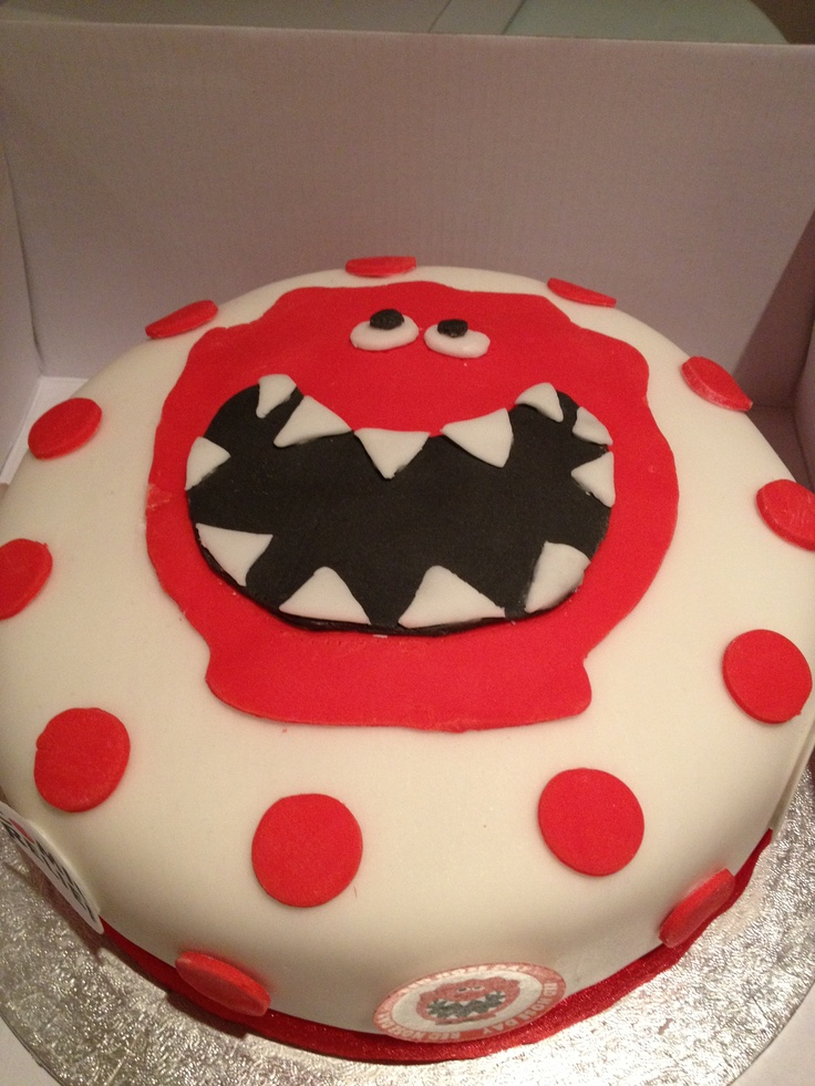Happy red nose day cake!