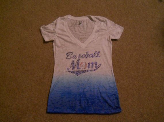 Baseball Mom Burnout Tee by AndMoreSportsApparel on Etsy, $27.00