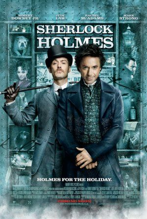 Sherlock Holmes movie poster, my judsy is on there, who's rocking a tache