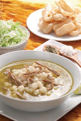 Kena Cocina Mexicana Light... Pozole blanco