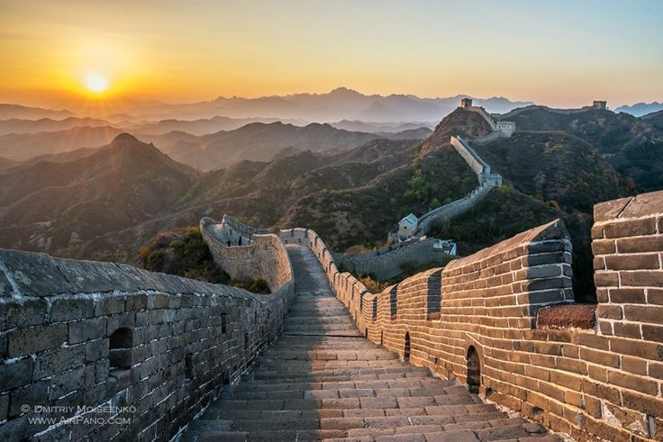 • Walk on the Great Wall of China.