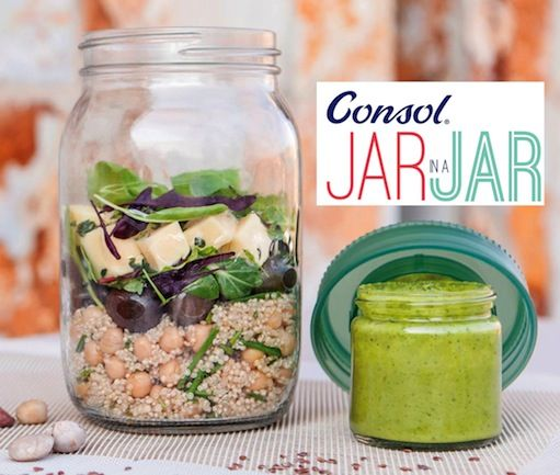 Consol's new Jar in a Jar is so ingenious that we've dubbed it the best thing since sliced bread! Here's some more info plus yummy 2-in1 meal ideas!
