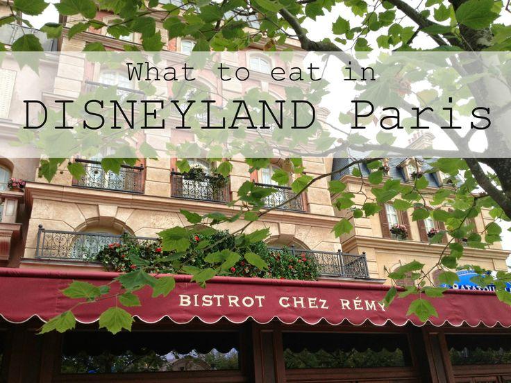 disneyland Parijs / Paris What to eat, waar gaan eten Bistrot chez remy , Ratatouille