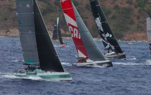 RORC Caribbean 600 fleet faces record-setting pace in punchy tradewinds