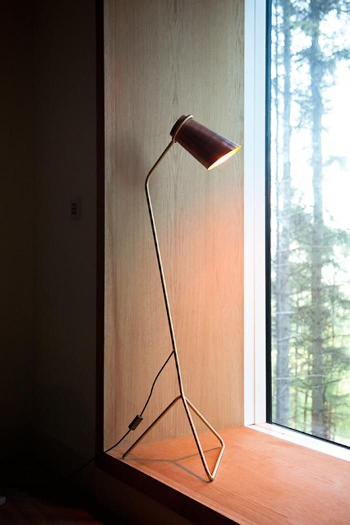 strand floor light reading light by dublinbased clancy moore architects there is a table version as well they were inspired by a human figure with an